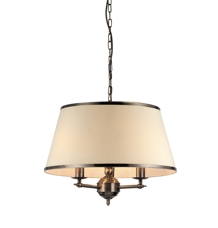 Люстра Arte lampЛюстры<br>Назначение светильника: для комнаты,<br>Стиль светильника: классика,<br>Тип: подвесная,<br>Материал светильника: металл,<br>Материал плафона: ткань,<br>Материал арматуры: металл,<br>Длина (мм): 550,<br>Ширина: 550,<br>Диаметр: 550,<br>Высота: 450,<br>Количество ламп: 3,<br>Тип лампы: накаливания,<br>Мощность: 40,<br>Патрон: Е14,<br>Пульт ДУ: нет,<br>Цвет арматуры: бронза,<br>Вес нетто: 5<br>