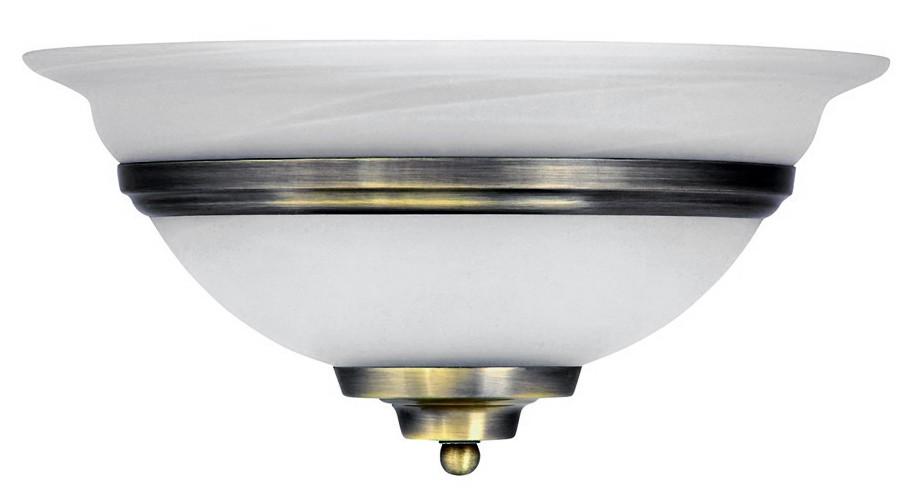 Бра GloboНастенные светильники и бра<br>Тип: настенный,<br>Назначение светильника: для гостиной,<br>Стиль светильника: классика,<br>Материал светильника: металл, стекло,<br>Тип лампы: накаливания,<br>Количество ламп: 1,<br>Мощность: 60,<br>Патрон: Е27,<br>Цвет арматуры: латунь,<br>Ширина: 310,<br>Высота: 160<br>