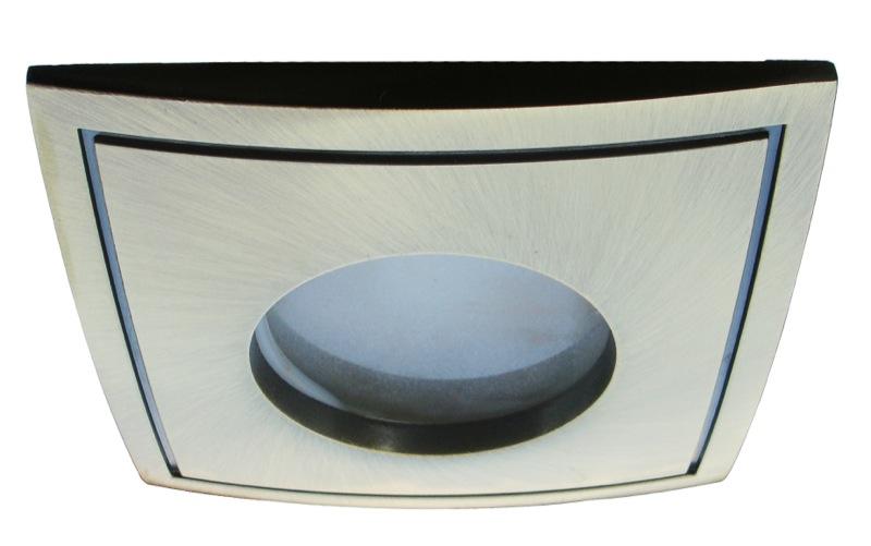 Светильник встраиваемый Arte lampСветильники встраиваемые<br>Стиль светильника: хай-тек,<br>Диаметр: 820,<br>Форма светильника: квадрат,<br>Материал светильника: металл,<br>Количество ламп: 1,<br>Тип лампы: галогенная,<br>Мощность: 50,<br>Патрон: GU10,<br>Цвет арматуры: бронза,<br>Коллекция: aqua 5444<br>