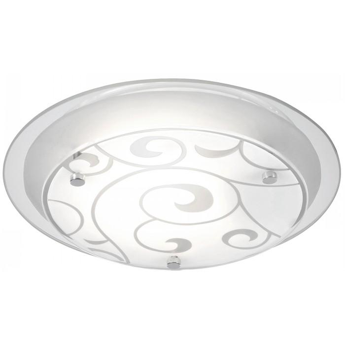 Светильник настенно-потолочный GloboСветильники настенно-потолочные<br>Мощность: 60,<br>Количество ламп: 1,<br>Назначение светильника: для комнаты,<br>Стиль светильника: модерн,<br>Материал светильника: металл, стекло,<br>Тип лампы: накаливания,<br>Высота: 80,<br>Диаметр: 250,<br>Патрон: Е27,<br>Цвет арматуры: хром,<br>Вес нетто: 0.8<br>