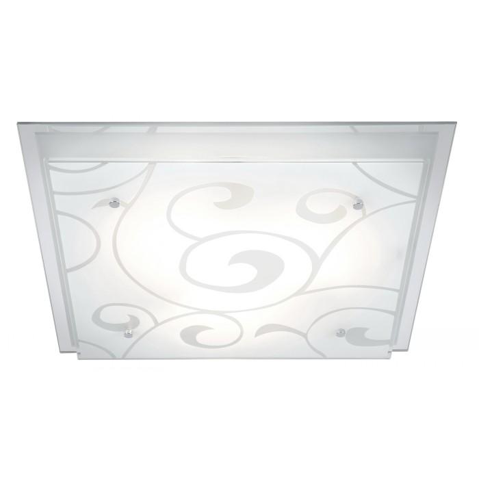 Светильник настенно-потолочный GloboСветильники настенно-потолочные<br>Мощность: 60,<br>Количество ламп: 3,<br>Назначение светильника: для комнаты,<br>Стиль светильника: модерн,<br>Материал светильника: металл, стекло,<br>Тип лампы: накаливания,<br>Длина (мм): 420,<br>Ширина: 420,<br>Высота: 80,<br>Патрон: Е27,<br>Цвет арматуры: хром<br>