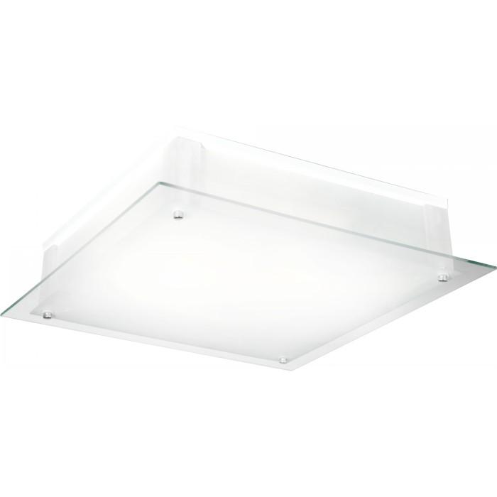 Светильник настенно-потолочный GloboСветильники настенно-потолочные<br>Мощность: 60,<br>Количество ламп: 4,<br>Назначение светильника: для комнаты,<br>Стиль светильника: модерн,<br>Материал светильника: металл, стекло,<br>Тип лампы: накаливания,<br>Длина (мм): 450,<br>Ширина: 450,<br>Высота: 90,<br>Патрон: Е27,<br>Цвет арматуры: хром<br>
