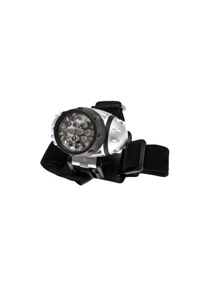 Налобный фонарь КОСМОСФонари<br>Источники питания: AAA, Количество ламп: 19, Тип лампы: светодиодная, Тип: налобный, Продолжительность работы: 50<br>
