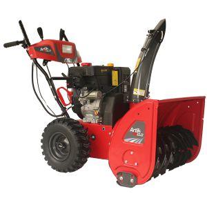 Снегоуборщик EfcoСнегоуборщики<br>Мощность (лс): 9,<br>Тип двигателя: бензиновый,<br>Производитель двигателя: EMAK,<br>Тип стартера: ручной и электрический,<br>Рабочий объем: 265,<br>Система шнеков: двухступенчатая,<br>Ширина захвата: 620,<br>Дальность выброса: 15,<br>Самоходный: да,<br>Скорости: 6+2,<br>Задний ход: есть,<br>Наличие фары: есть,<br>Вес нетто: 85<br>