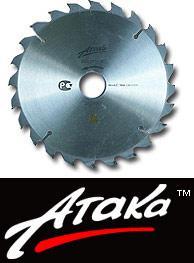 Круг пильный твердосплавный ATAKA 230 Х 56 Х 30 лам.отриц.зуб