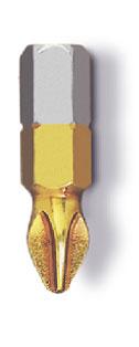 Ph3 нитрид-титановое покрытие, 3 шт., Бита