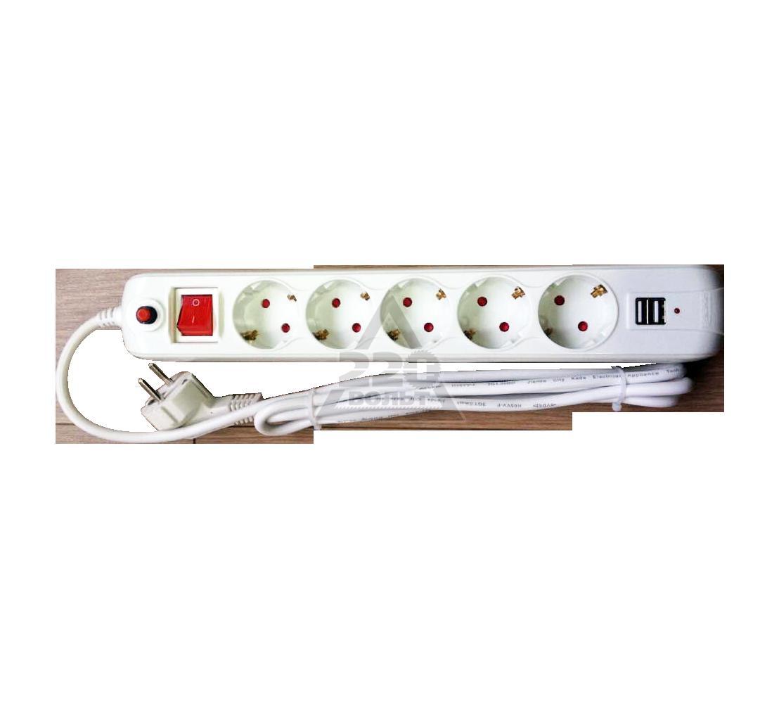 Сетевой фильтр EKF USB16-310-5-018