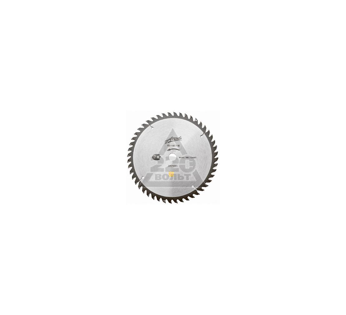 Круг пильный твердосплавный АТАКА 8078540