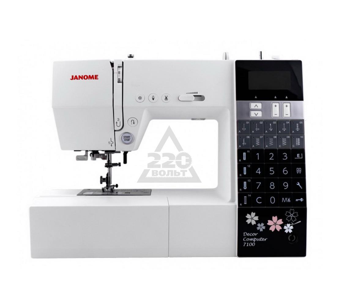 ������� ������� JANOME 7100DC  100�������� 6����� ������ ���.������ LCD����� LED���������