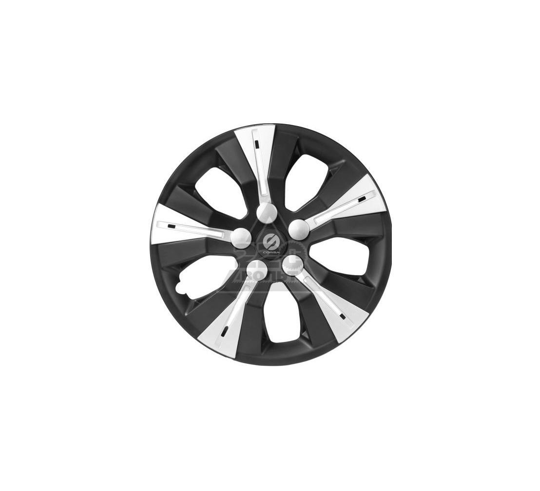 Колпаки на колёса SPARCO SPC/WC-1360 BK/SILVER (14)