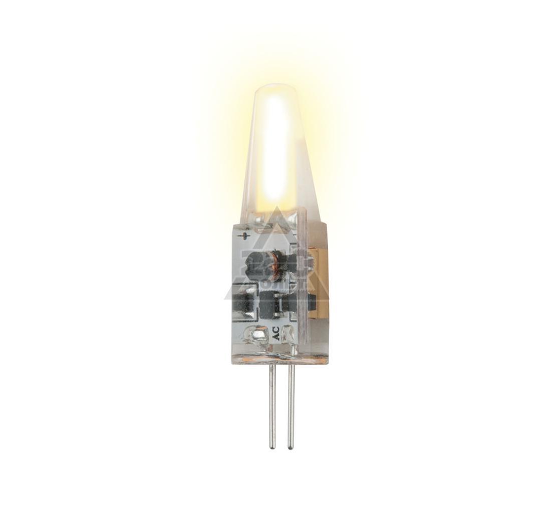 Лампа светодиодная UNIEL LED-JC-220/2W/WW/G4/CL SIZ05TR