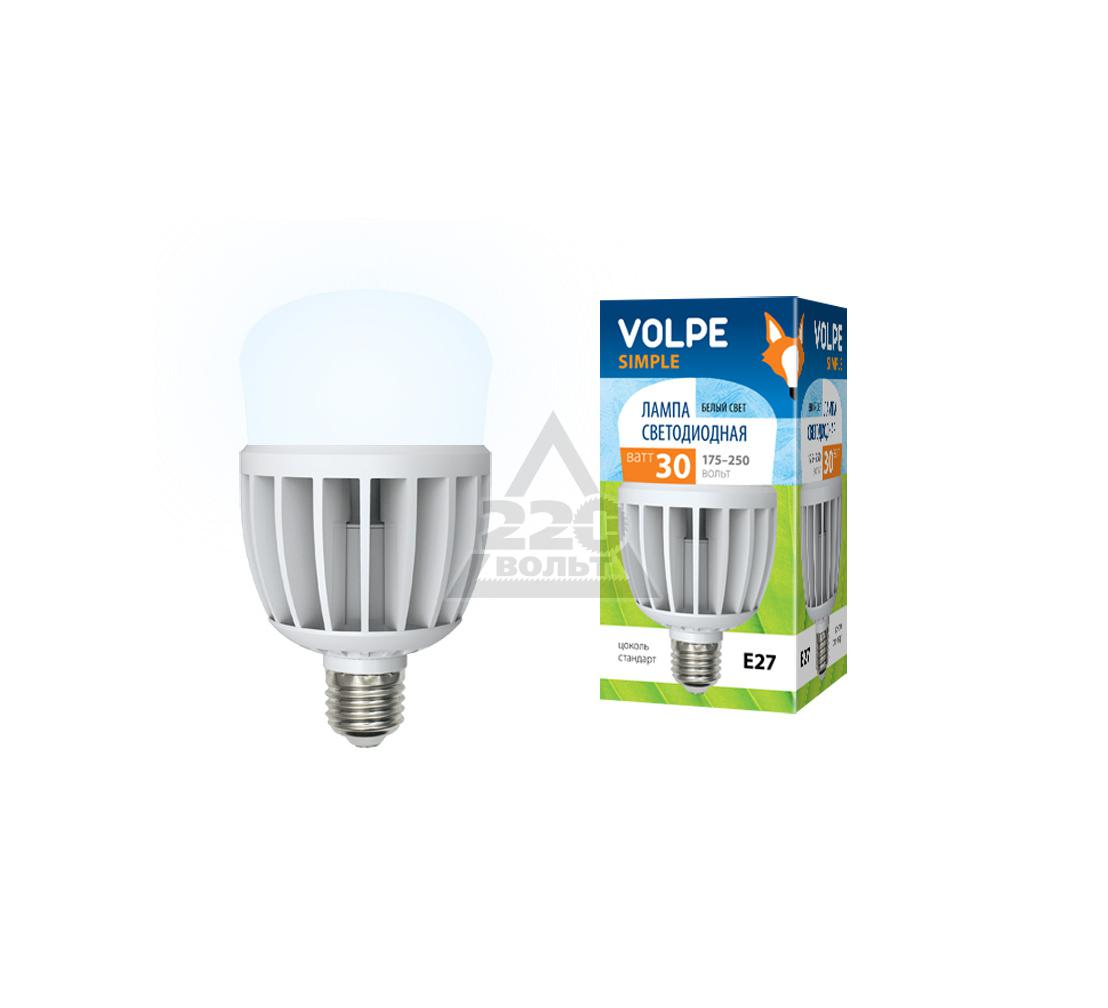 ����� ������������ VOLPE LED-M80-30W/NW/E27/FR/S