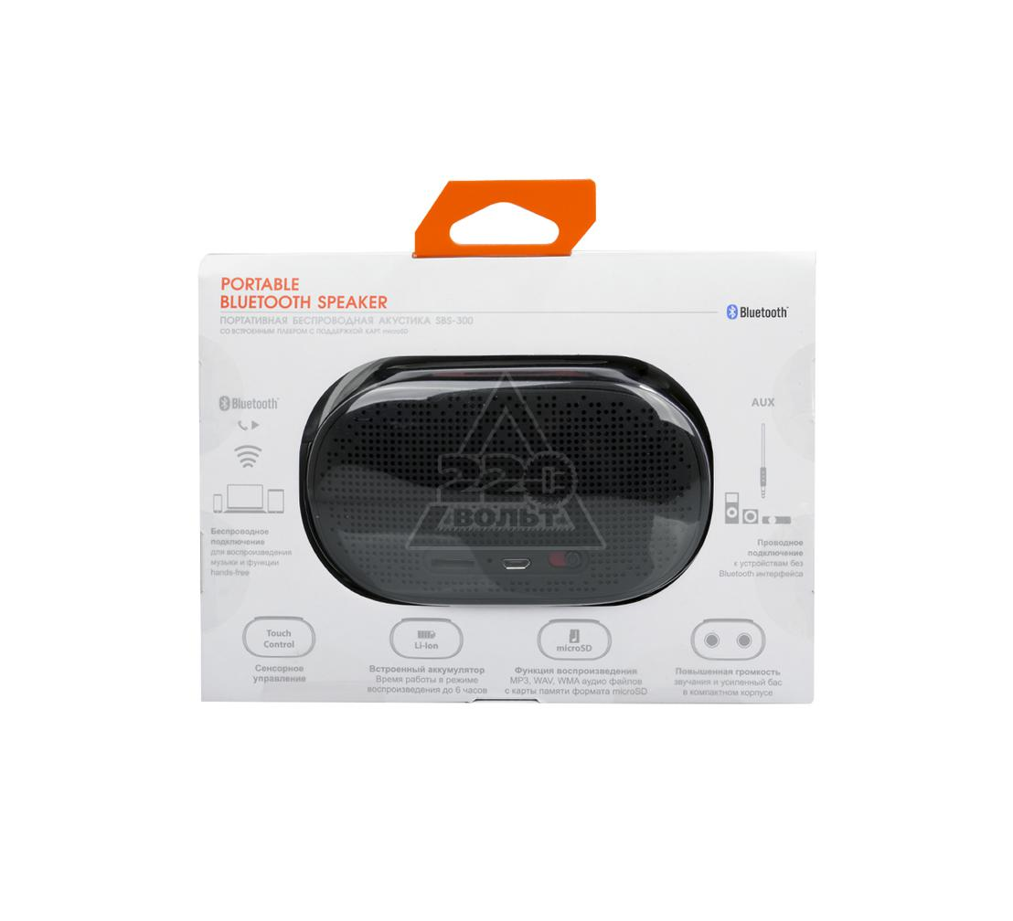 Портативная Bluetooth-колонка INTER STEP IS-LS-PRSBS300B-000B201