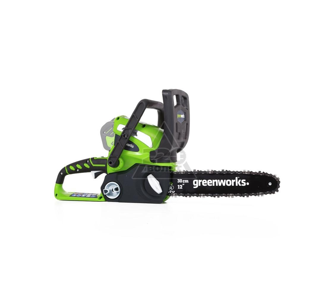 Пила цепная аккумуляторная GREENWORKS 20117