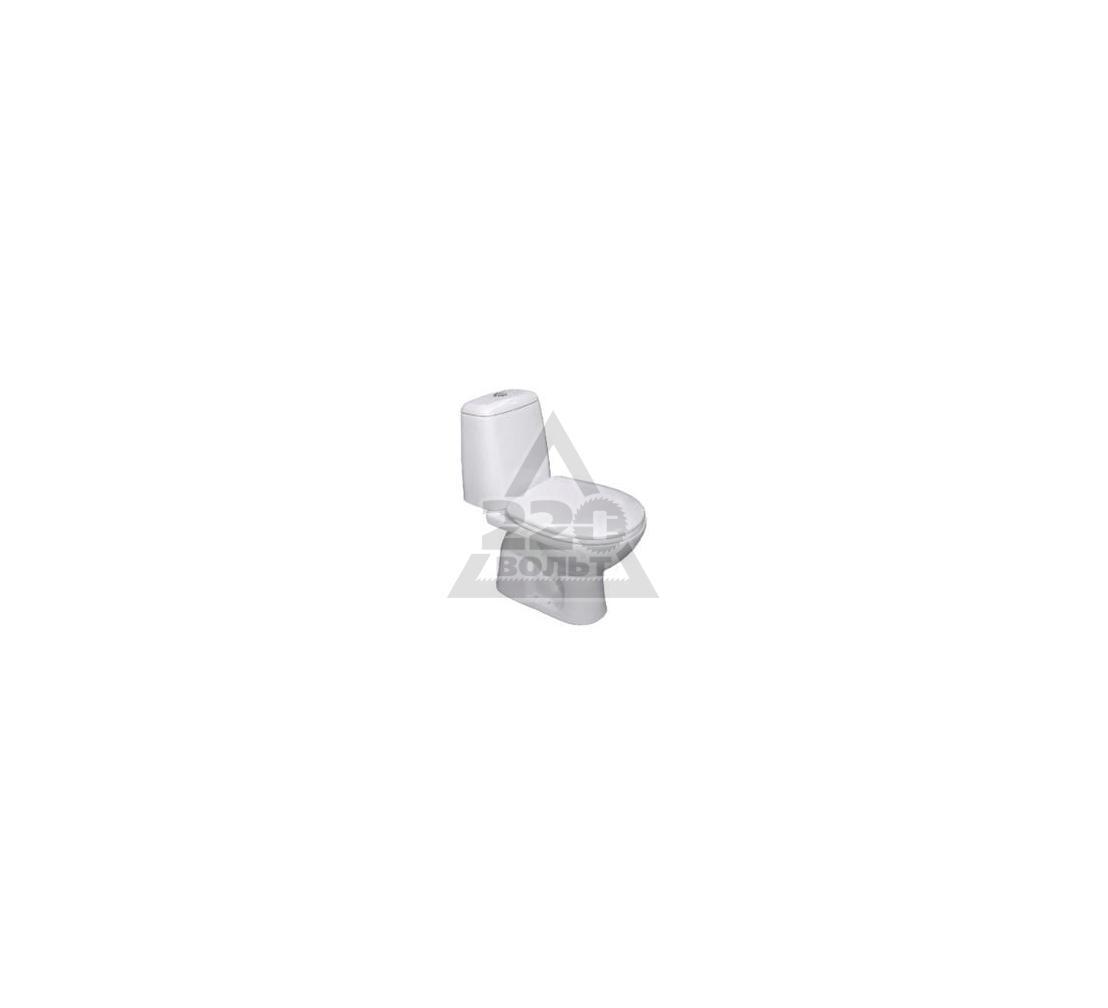 Унитаз-компакт с вертикальным выпуском VIDIMA Сириус (BOX) W902701