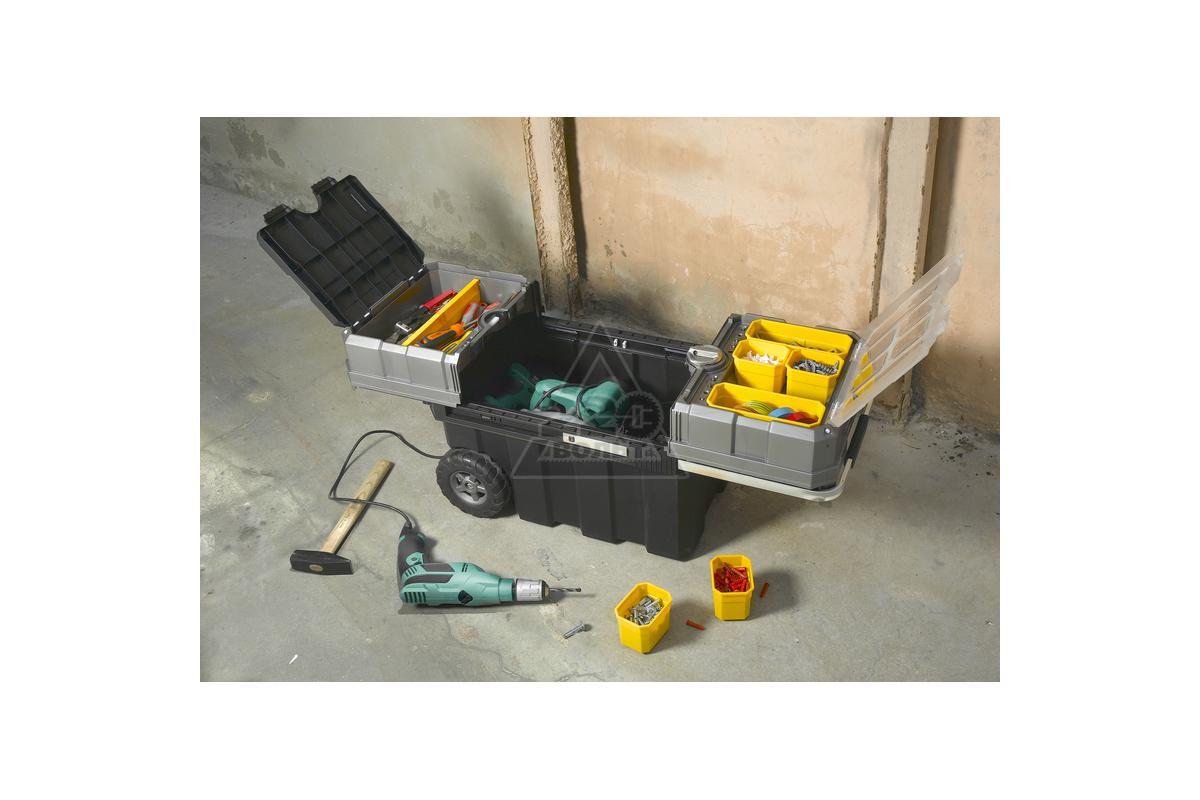 Ящик с колесами для инструментов своими руками 350