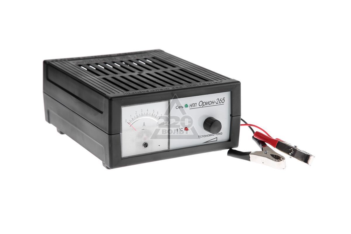 pw265 нпп инструкция устройство зарядное орион