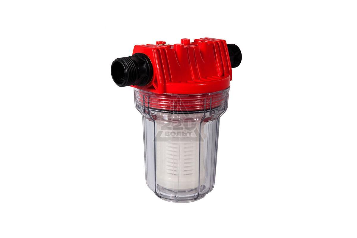 Фильтр грубой очистки воды для дачи своими руками