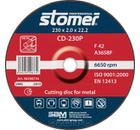 Круг отрезной STOMER STOMER CD-230P