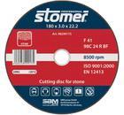 Круг отрезной STOMER CS-180
