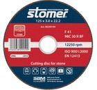 Круг отрезной STOMER CS-125