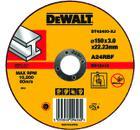Круг отрезной DEWALT DT42400-XJ
