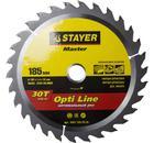 Круг пильный твердосплавный STAYER MASTER 3681-185-20-30