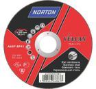 Круг отрезной NORTON 125 Х 1.0 Х 22,NORTON VULKAN INOX   по нержавеющей стали