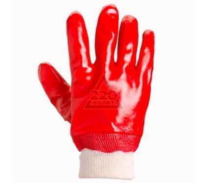 Перчатки обливные DOLONI 4518  ПВХ, полный облив, гладкие