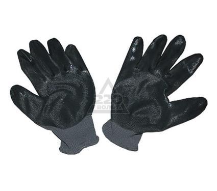 Перчатки нитриловые DOLONI 4522  ладонь - нитрил с дополнительной точкой