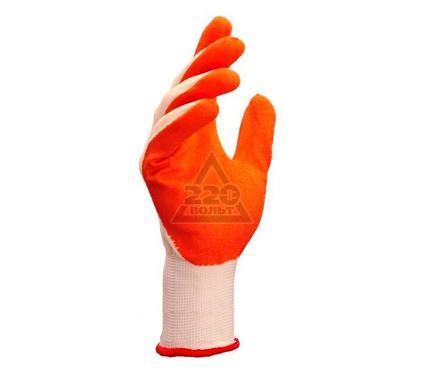 Перчатки латексные DOLONI 4527  латексные, облив с открытой тыльной частью