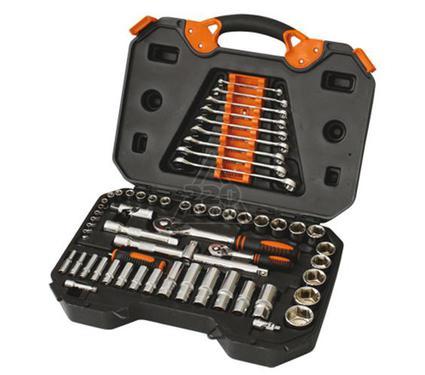 Набор инструментов в чемодане, 55 предметов КРАТОН TS-04