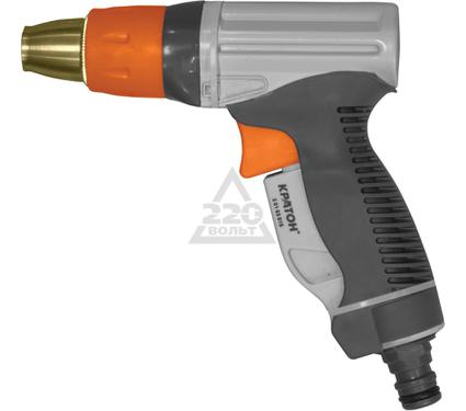 Пистолет для полива КРАТОН Premium металлический регулируемый