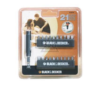 Набор бит BLACK & DECKER A7074