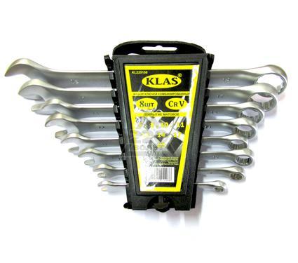 Набор комбинированных гаечных ключей в держателе, 8 шт. KLAS IK01-208