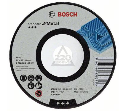 Круг зачистной BOSCH Standard for Metal 230 Х 6 Х 22