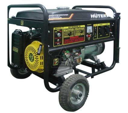 Бензиновый генератор HUTER DY8000LX-3