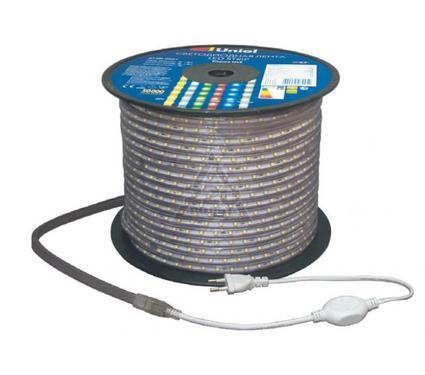 Световая лента UNIEL ULS-5050-30LED/m-14mm-IP67-220V-7,2W/m-100M-RED