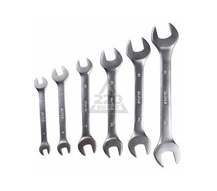 Набор комбинированных гаечных ключей, 6 шт. STURM! 1045-01-SS6