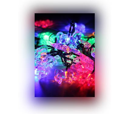 Электрогирлянда КОСМОС ''Лошадки'' KOC GIR30LEDHORS RGB