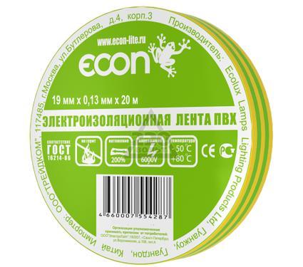 Изолента ECON 19/20  желто-зеленый