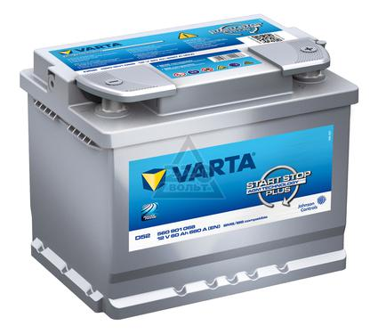 Аккумулятор VARTA Start Stop Plus 560 901 068