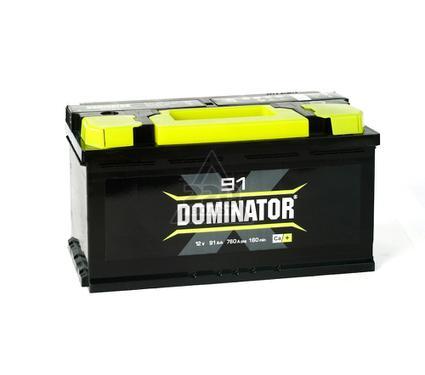 Аккумулятор DOMINATOR 91А/ч