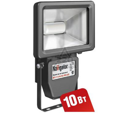 Светодиодный прожектор NAVIGATOR 94 628 NFL-P-10-4K-BL-IP65-LED