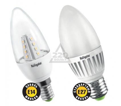 Лампа светодиодная NAVIGATOR 94 392 NLL-C37-5-230-2.7K-E14-FR