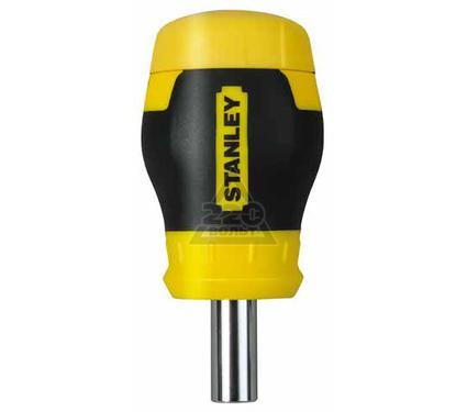 Отвертка с битами STANLEY Stubby Multibit 0-66-357