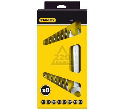 Набор рожковых гаечных ключей в держателе, 8 шт. STANLEY 4-87-052