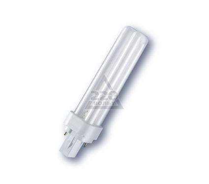Лампа энергосберегающая OSRAM DULUX D 13W/840 G24d-1