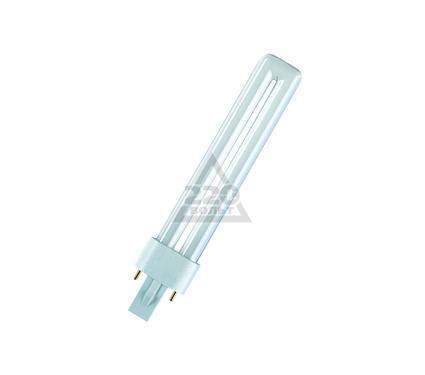 Лампа энергосберегающая OSRAM DULUX S 9W/827 G23