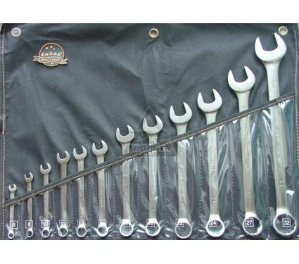Набор комбинированных гаечных ключей в чехле, 12 шт. SKRAB 44043
